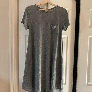 Medium Grey Lularoe Carly Dress